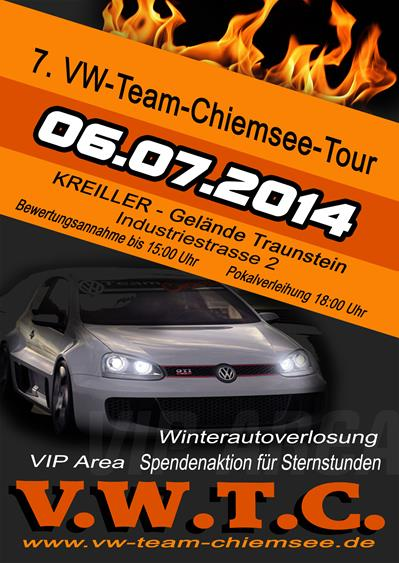 7 vw team chiemsee tour